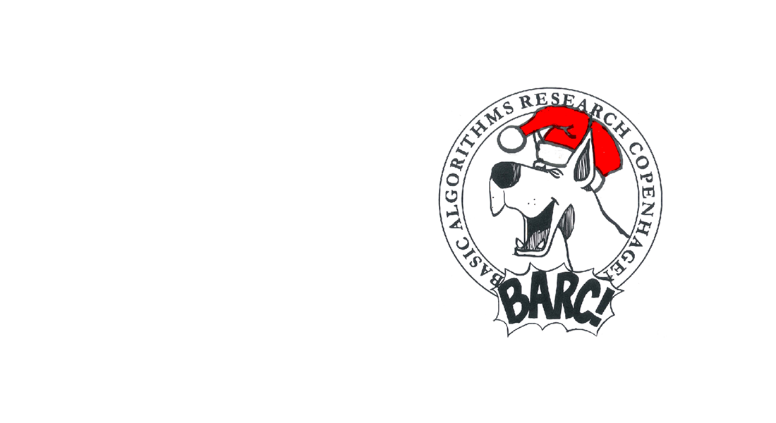 BARC logo with Christmas hat